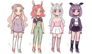 Bunny Adopts [CLOSED] by mellowshy