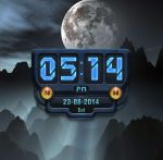 RoboClock for xwidget by Jimking