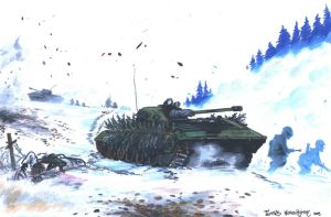BMP-2 in action by tuomaskoivurinne