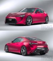 Toyota FT-86 II WIP3b by The-IC