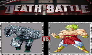 Doomsday vs Broly by CannedMadMan66