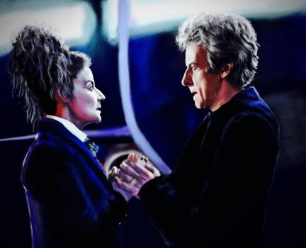The Doctor and Missy by Doctorwithaspoon