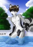 Commission: At the Pool by Kurumi-Lover