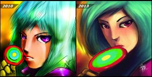 Kula Diamond - Then and Now by DarroldHansen