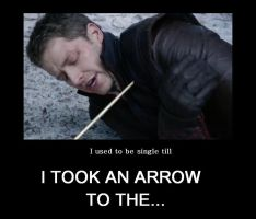 Arrow to the... by mini-and-rina