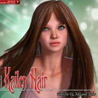 Kailen Hair For V4 M4 and Tyler by emmaalvarez