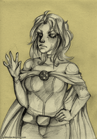 X-Men Week Challenge - Day 1: Emma Frost by MadBlackie