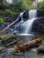 Ricketts Glen State Park 18 by Dracoart-Stock