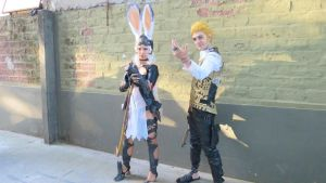 Balthier and Fran 05 by drkitsune