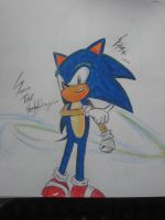 Sonic The Hedgehog August 1st by F-Stormer-3000
