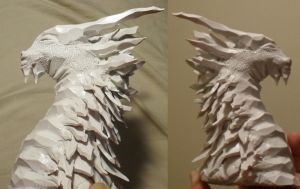 Ice Dragon - unpainted by Flegeton