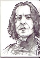 Severus Snape by ringbearer80