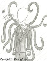 Slenderman by ThePastelHobbit