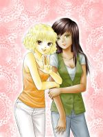 Meggy and Nelly by starca