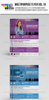 Multipurpose Flyer Template Vol 10 by jasonmendes