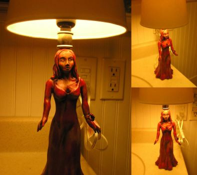 Carrie Lamp by AnimeGeer