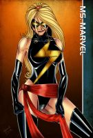 Ms. Marvel Colored by CliffEngland
