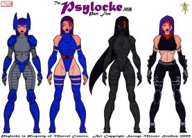 Psylocke Series: Part Five by SavageMouse