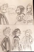 Mary, Victor and Ada by ravenviolet777