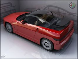 Alfa Romeo SZ_Render fixed by elminavilo