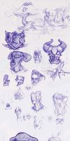 Sketches 21-11 by RedPaints