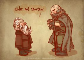 Balin and Dwalin by haleyhss