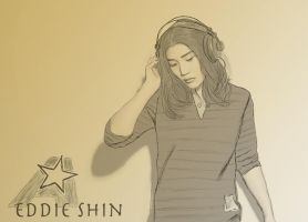 Eddie Shin of Aziatix by noravalo