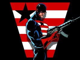 US Agent Locked and Loaded by Superman8193