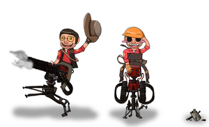 TF2 - Wranglin' Time by Akatears