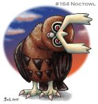 #164 Noctowl by Bafa