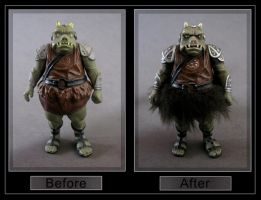 gamorrean guard - repaint by nightwing1975