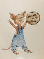Cookie Mouse by Cwmm