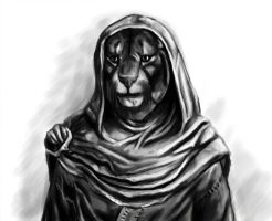 M'aiq the Liar (sketch) by SandraWhite