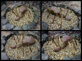 land art stone ant in hungary by tamas kanya by tom-tom1969