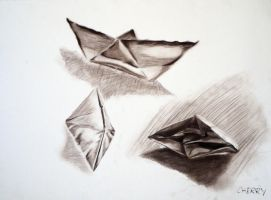 Paper Boats by 07oogenesis