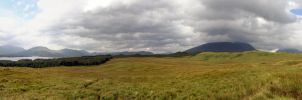 green scottish highlands by the-drow
