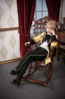 Vocaloid : Servant of Evil - Kagamine Len part.1 by miyoaldy