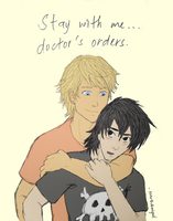 Nico di Angelo x Will Solace by seventhdemigod