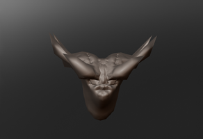 The Ogre - 3D Character by bioxyde