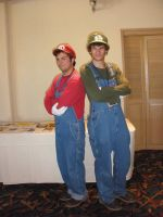 Super Mario Bros Cosplay by SparksMcGhee