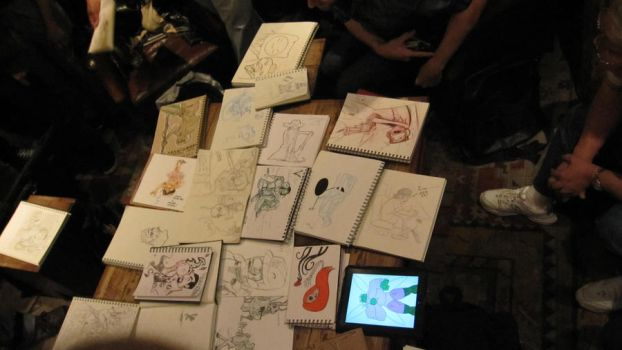 May 2011 Sketchbomb SF 4 by mysterious-1nsf
