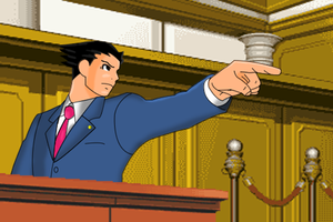 Phoenix Wright by Mellotaku