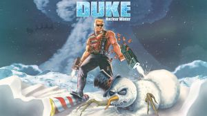 Duke: Nuclear Winter Wallpaper by TheRumbleRoseNetwork