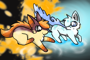Flowing Water- Contest entry by Snowree