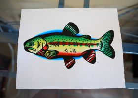 Golden Trout by Jlynntaylorart