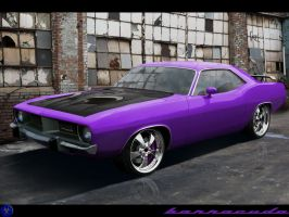 Plymouth Barracuda 1970 by pacee