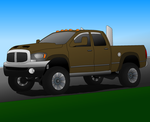Dodge Ram Lifted 2500 Heavy Duty FINAL by AmericanWolf016