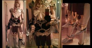 UNFINISHED Lightning FF 13-2 armor by Zwielichtodin