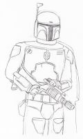 Boba Fett by ColonelYeo