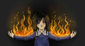 Look at me, I'm burning by USGDead-Girl